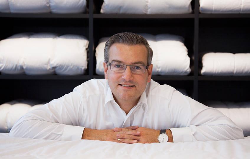 Leif Ginap im Portrait bei Betten Struve