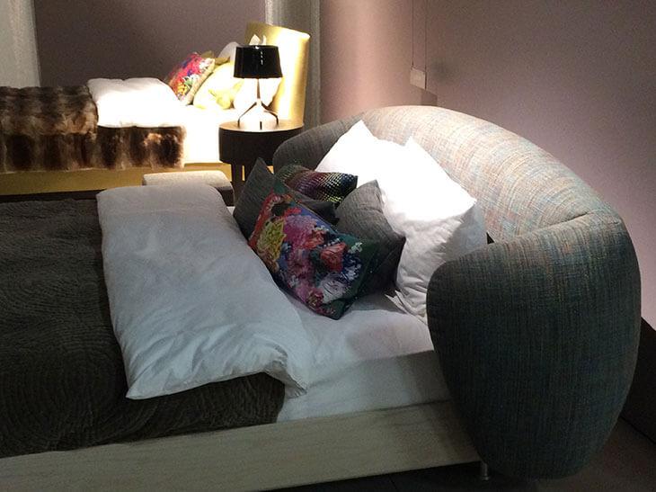 designer betten auf der imm cologne 2015 nachtmanufaktur. Black Bedroom Furniture Sets. Home Design Ideas