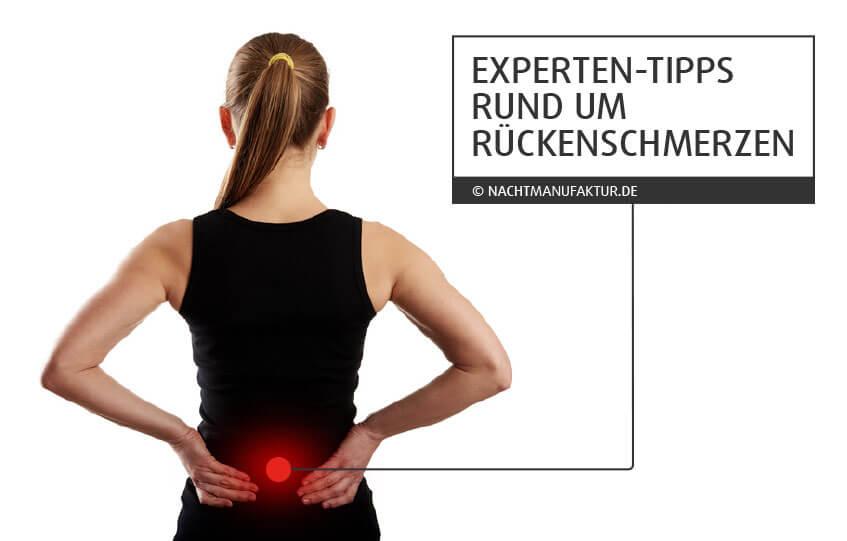 Internetseite gegen Rückenschmerzen