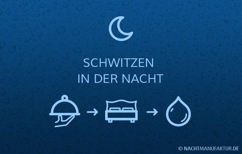 Illustration / Grafik: Nachts schwitzen