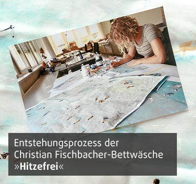 Christian Fischbacher Designprozess der Bettwäsche