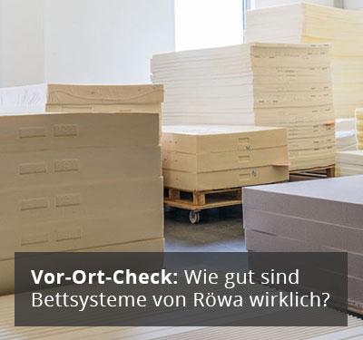 Röwa Lattenrost und Buchenwald